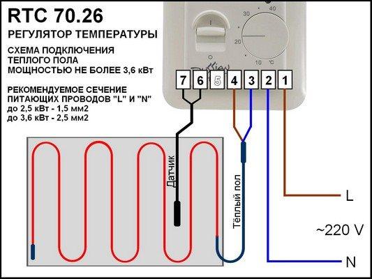 Терморегулятор тёплого пола своими руками 54